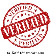 Free Art Print Of CONFIRMED Stamp Rubber Over A