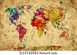 Free Antique Map Art Prints And Wall Artwork Freeart