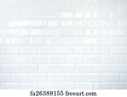 Free Art Print Of Circle Brick Pattern Texture Wall