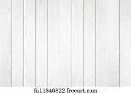 Free Art Print Of Old Blue Wood Wall