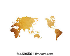 Free world map art prints and wall art freeart world map art print world map vintage artwork perfect background with space for text gumiabroncs Gallery
