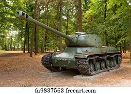 Free art print of Tank Battle
